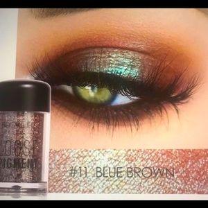 Loose Pigment Eyeshadow - Blue/Brown